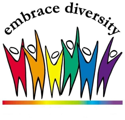 Embrace Diversity Mutli-Color Logo