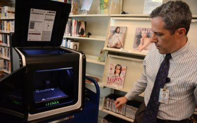 SWFLN's Afinia 3D Printer Makes Local Headlines while on loan to collier county public library!