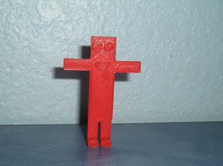 3d printed stick figure by Henry County