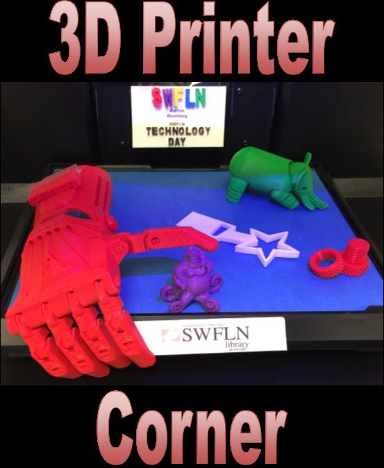3d print corner logo