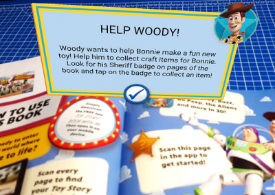 Toy Story AR Book
